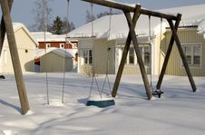 Free Winter Swing Stock Photo - 5969210