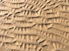 Free Sand Ripples Royalty Free Stock Photo - 5969225