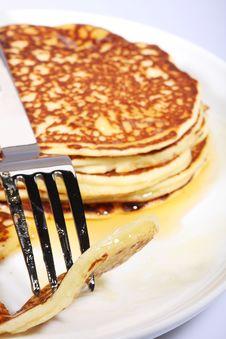 Free Fresh American Pancakes Royalty Free Stock Photo - 5969595