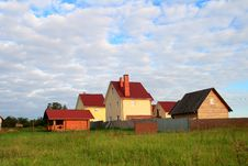 The House In A Countryside Stock Image