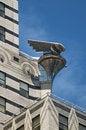 Free Chrystler Building Eagle Against Blue Sky Royalty Free Stock Photos - 5970338