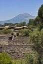Free Pompei And Vesuvius Royalty Free Stock Images - 5973439
