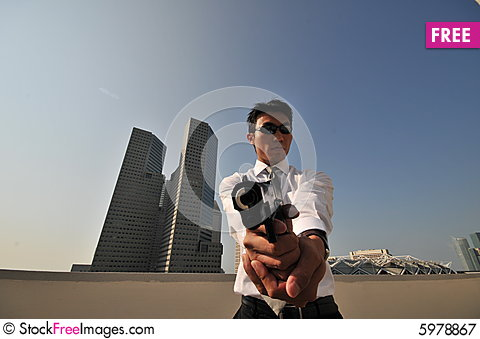 Free Agent/ Killer 31 Royalty Free Stock Photography - 5978867