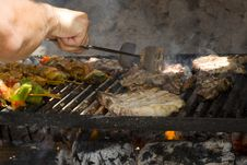 Free Meat Barbeque Stock Photography - 5971092