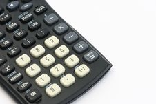 Free Calculator Keys Royalty Free Stock Photography - 5971637