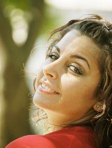 Free Smiling Girl Stock Image - 5971711