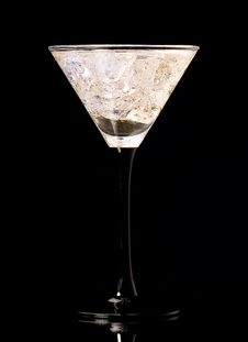 Free Glass With Martini Stock Photography - 5971812