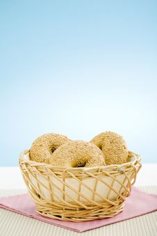 Free Breakfast Bagel Stock Photos - 5972523