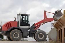 Bulldozer At Work Stock Photography