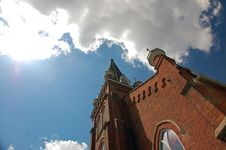 Free Norval Presbyterian Church Looking Skyward Royalty Free Stock Photography - 5973627