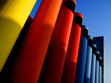 Free Colored Tubes Royalty Free Stock Photos - 5974118
