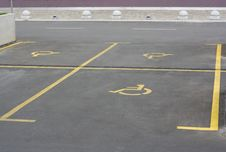 Parking  For Handicapped People