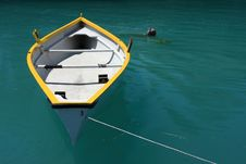 Free Empty Rowboat Stock Photo - 5974770