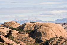 Free Mountains In Canyonlands National Park Royalty Free Stock Images - 5974839
