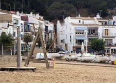 Free Deserted Mediterranean Beach At Dawn. Stock Photo - 5974850