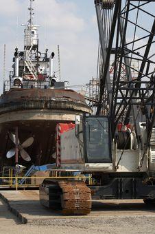 Free Shipyard Stock Photography - 5975892