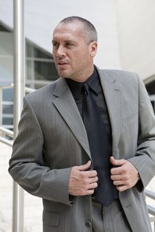 Business Man Series Royalty Free Stock Photo