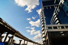 Free New Modern Business Centre Stock Photography - 5976322
