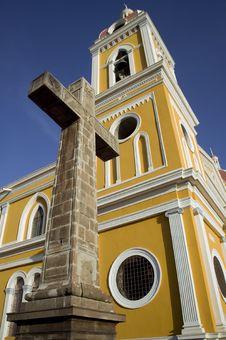 Free Cathedral De Granada Nicaragua Royalty Free Stock Photos - 5976908