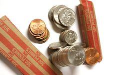 Free Loose Change Royalty Free Stock Image - 5977246