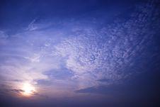 Free Sunrise Gurney Drive Stock Photo - 5977380