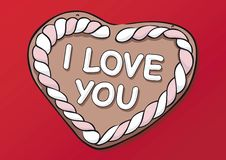 Free Gingerbread Heart Royalty Free Stock Photos - 5977618