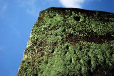 Free Mossy Stone Royalty Free Stock Photo - 5977855