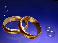 Free Rings Glass Stock Image - 5978111