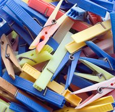 Free Clothespins Stock Photo - 5978450