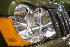 Free Close-up Of A New Modern Car Head Lamp Royalty Free Stock Photos - 5978498