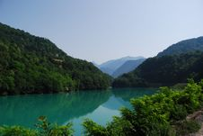 Free Lake In The Alps Stock Images - 5978884