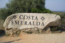 Free Costa Smeralda Stock Photography - 5979012