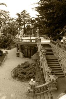 Park In Grock S Villa Royalty Free Stock Images