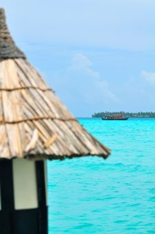 Free Maldives, Welcome To Paradise! Royalty Free Stock Image - 5979506