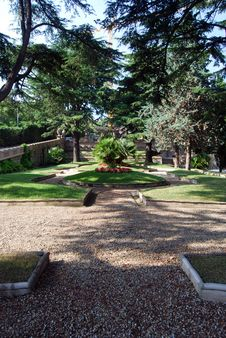 Park In Grock S Villa Stock Image