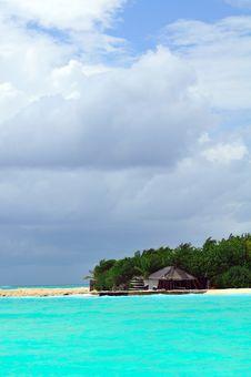 Free Maldives, Welcome To Paradise! Stock Image - 5979611
