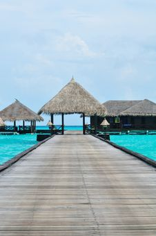 Free Maldives, Welcome To Paradise! Royalty Free Stock Photography - 5979637