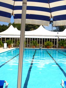 Free Glimpse Of A Pool Stock Images - 5979904