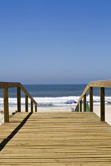 Free Beach Access Royalty Free Stock Photos - 5979948