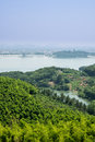 Free From The Top Of The Hill Overlooking The Tianmu Lake Royalty Free Stock Photos - 59746298