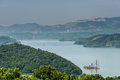Free From The Top Of The Hill Overlooking The Tianmu Lake Royalty Free Stock Images - 59746579