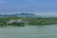 Free From The Top Of The Hill Overlooking The Tianmu Lake Stock Photo - 59746950