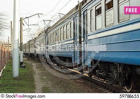 Free Going Train Royalty Free Stock Photo - 59788655