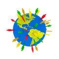 Free Think Global Stock Photo - 5981300
