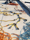 Free Coils Of Electrical Cable Stock Photography - 5985512
