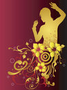 Free Female Silhouette Royalty Free Stock Photos - 5987388