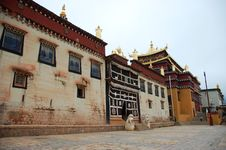 Free Tibet Temples Royalty Free Stock Photography - 5981187