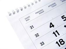 Free Calendar Stock Images - 5981694