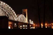 Free Railroad Bridge Stock Image - 5982121