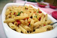 Pasta In A Bowl Stock Photos
